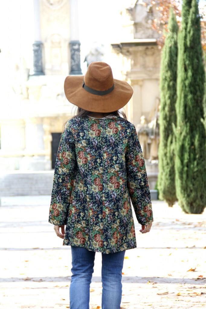 abrigo de flores