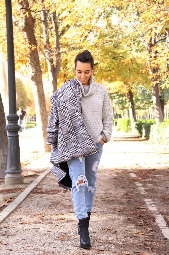 abrigo oversize