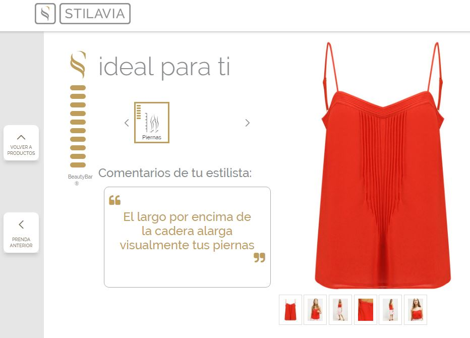 Look 3 Top Red