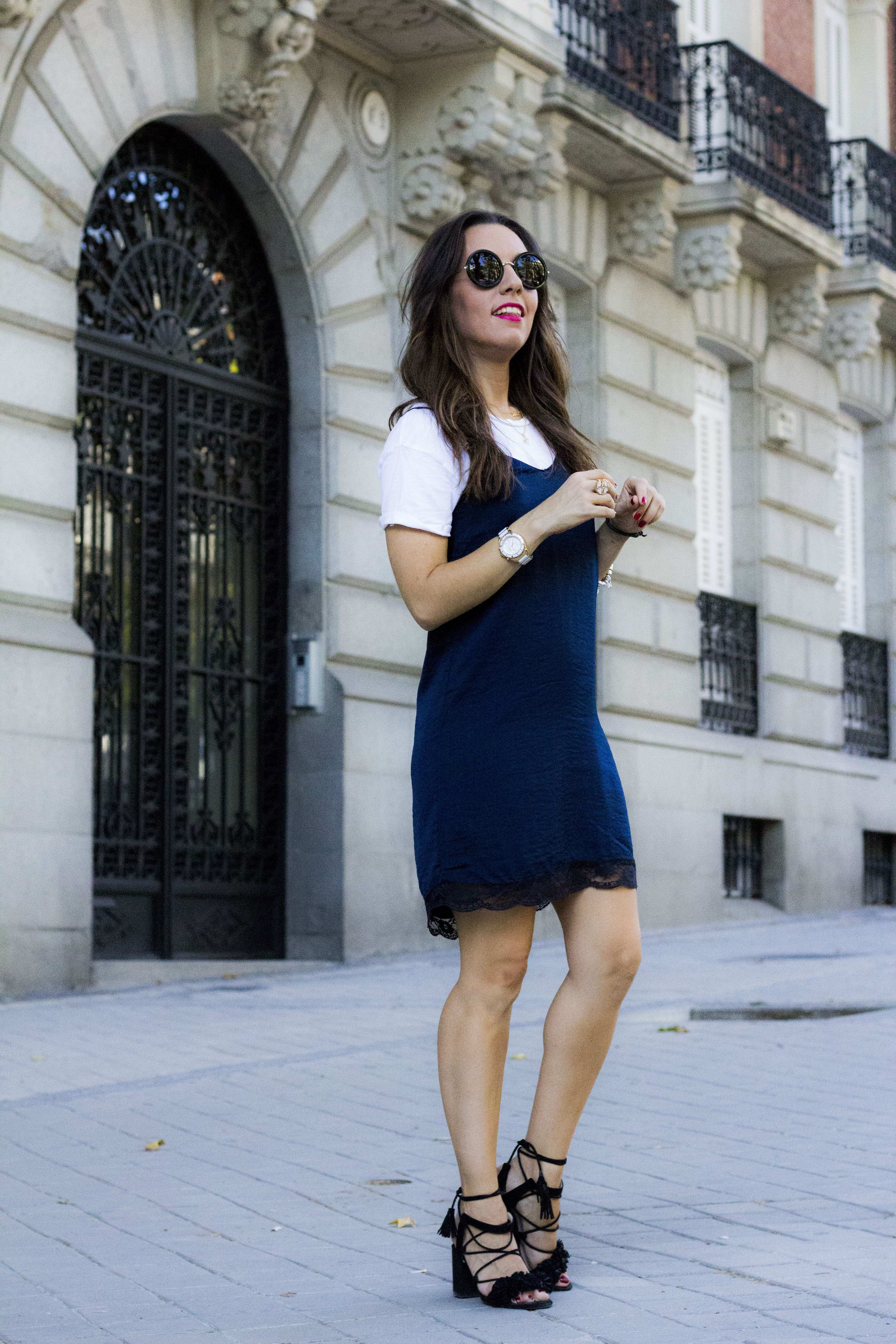summer look slip dress